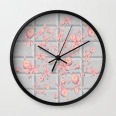 Push Button v.1 Wall Clock