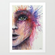 Intrepidity Art Print