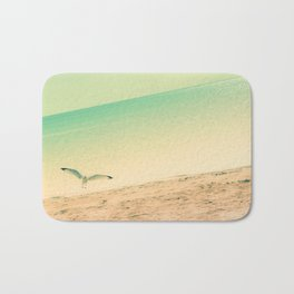 Beach is where I belong Bath Mat