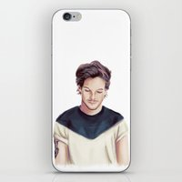 louis ck iPhone & iPod Skins featuring Louis  by thestoryischanging