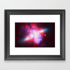 Space. In Color. Framed Art Print