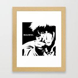 Cowboy Bebop Spike Spiegel Framed Art Print