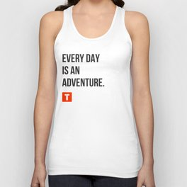 Every Day Is an Adventure Unisex Tank Top