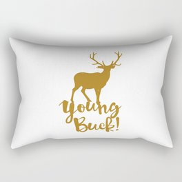 Young Buck Cool Hipster Swag Rectangular Pillow