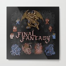 Fantasy Final Metal Print