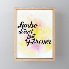 The Art of Limbo Framed Mini Art Print