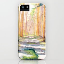 Down The Forest Path iPhone Case