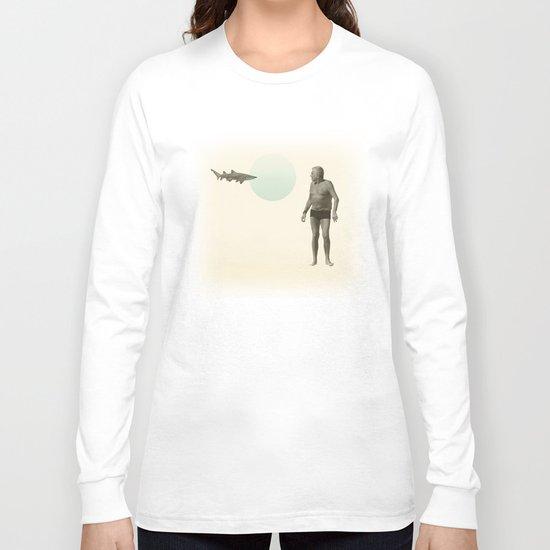 shark bate Long Sleeve T-shirt
