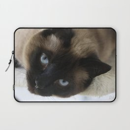 Siamese Soulful Expression Laptop Sleeve