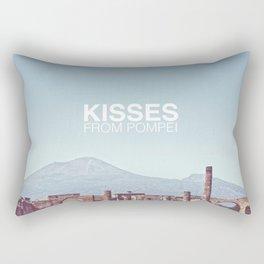 Kisses from Pompei Rectangular Pillow