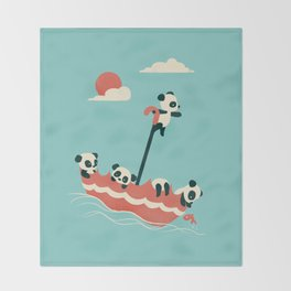 Float On Throw Blanket