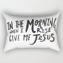 Give me Jesus Rectangular Pillow