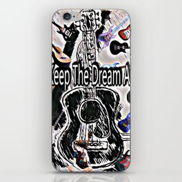 Keeping The Dream Alive iPhone Skin