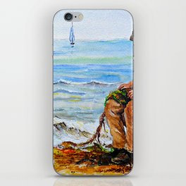 A Day with Granddad iPhone Skin
