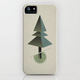 Triangle Tree iPhone Case