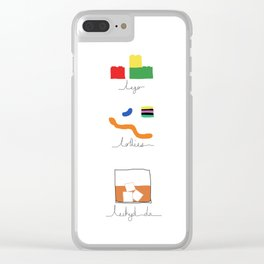 Lechyd da! Clear iPhone Case
