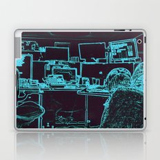 9-1-1 blue Laptop & iPad Skin