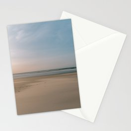 Calm soft Beach || Colorful and natural travel photography || Long exposure Stationery Cards