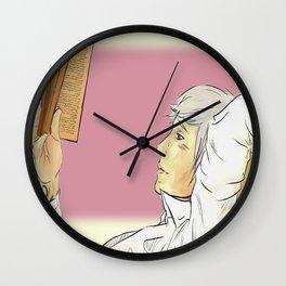 Will's book thief Wall Clock