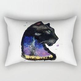 Galaxy Panther Rectangular Pillow