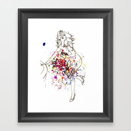high fashion Framed Art Print