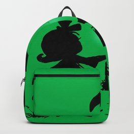 Silhouette Easter Bunny Gift Backpack