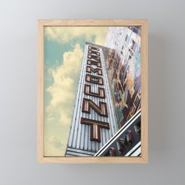 Paramount - Oakland, CA Framed Mini Art Print
