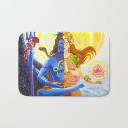 Shiva and Shakti Bath Mat