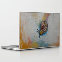 snail Laptop & iPad Skins featuring Snail by Michael Creese