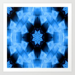 Starry Blue Sky.... Art Print