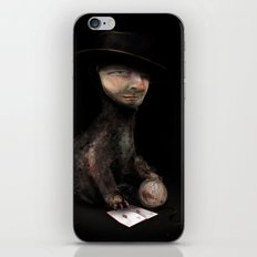 Charles the cat iPhone & iPod Skin