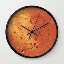 Les Ocres de Roussillon - France Wall Clock