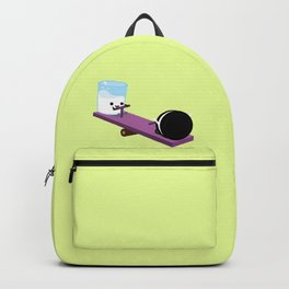 Milk and Cookie - Seesaw Backpack