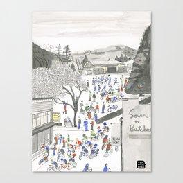 ross common Canvas Print