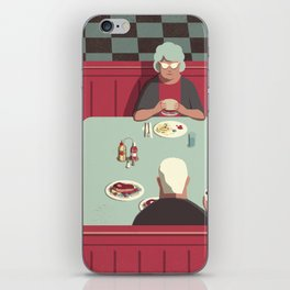 Day Trippers #11 - Diner iPhone Skin