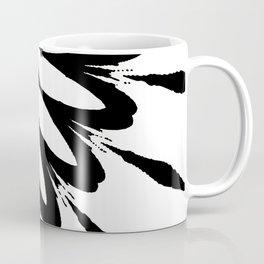The Modern Flower White & Black Coffee Mug
