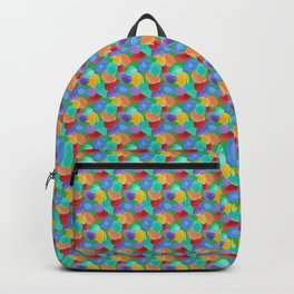 Blobs Pattern Backpack
