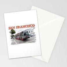 San Francisco Fillmore Street Stationery Cards