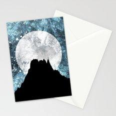 Midnight Moon Stationery Cards