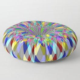Colorful Spiro Floor Pillow