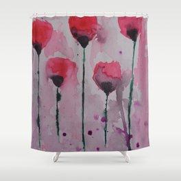 Fuchsia Dreams Shower Curtain