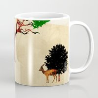 safari Mugs featuring Safari by Design4u Studio