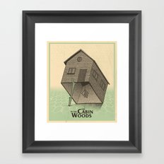 The Cabin In The Woods - Movie Poster Framed Art Print