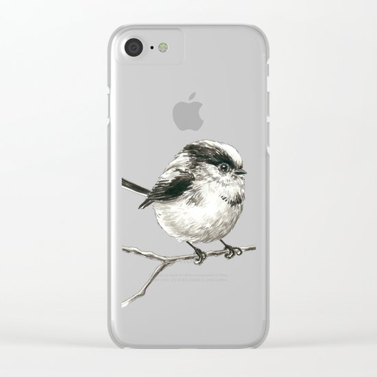 Tit bird Clear iPhone Case