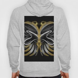 Abstract -Tiger Butterfly Hoody