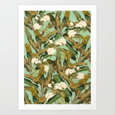 Tropical Jungle Art Print