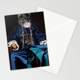 Chinese Zodiac - The Rat Stationery Cards