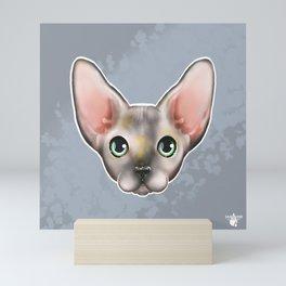 Glue Sphynx Mini Art Print