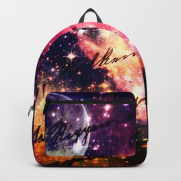Letter from outer space Backpack