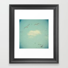 Circle of Birds Framed Art Print